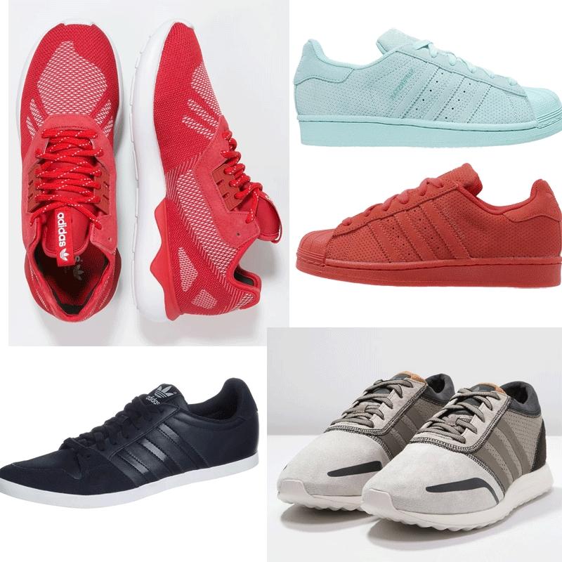 Heren / dames / unisex sneakers 60% korting (veel adidas) @ Zalando