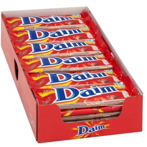 Daim Krokante Karamel Chocolade 36 X 28 gram voor €10,92 @ Amazon.de