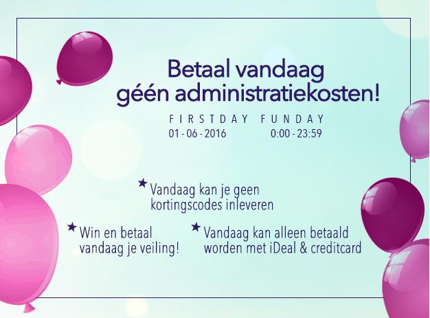 Betaal vandaag geen administratiekosten t.w.v. €5 @ Ticketveiling