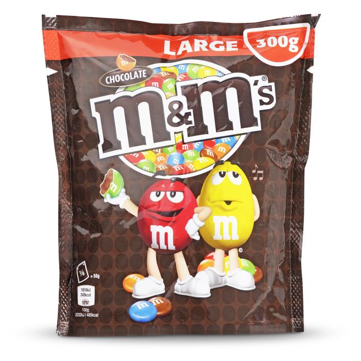 M&M Choco Large (5 x 300g) voor €9,95 @ Amazon.de