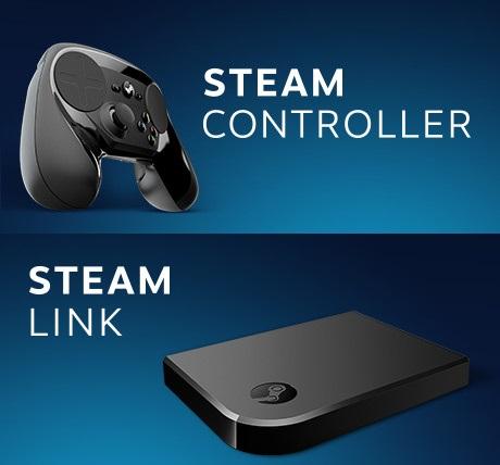 30% korting op de Steam Controller en Steam Link (€38,49) @ Steam Shop