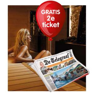 Gratis, 2e sauna entree Thermen Bussloo bij aankoop Telegraaf bij Cigo