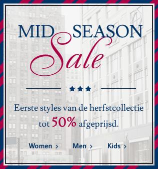Sale met kortingen tot 50% + 10% extra korting @ Tom Tailor