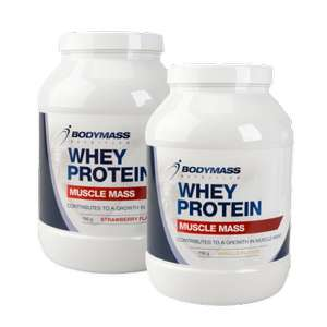 Body Mass Whey Protein (750gr) voor €7,95 @ Action