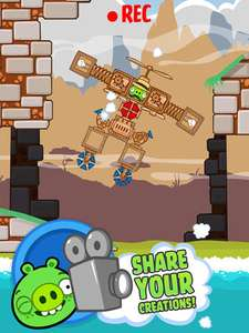 Bad Piggies Iphone + HD (IOS) GRATIS!