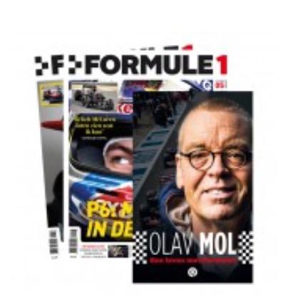 Formule 1 magazine 8 edities voor €19,99 @ Groupon