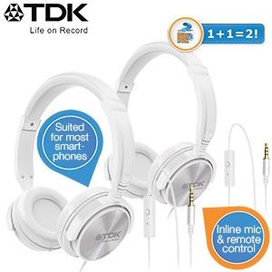 2 TDK ST170  koptelefoons voor €30,90 @ iBOOD