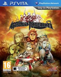 PS Vita Grand Kingdom gratis te downloaden (laagste prijs elders € 34,75)