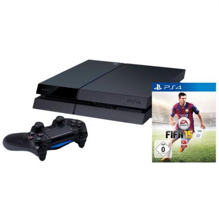 Playstation 4 + FIFA 15 voor €380,75 @ Redcoon
