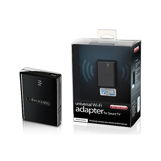 Sitecom WLX-2004 Smart TV Wi-Fi Adapter voor € 32,49 @ Wehkamp