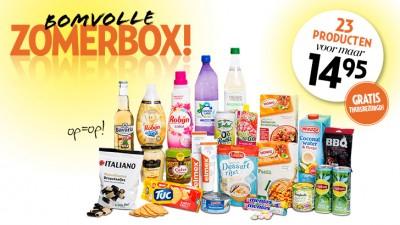 Veronica - Zomer boodschappenpakket