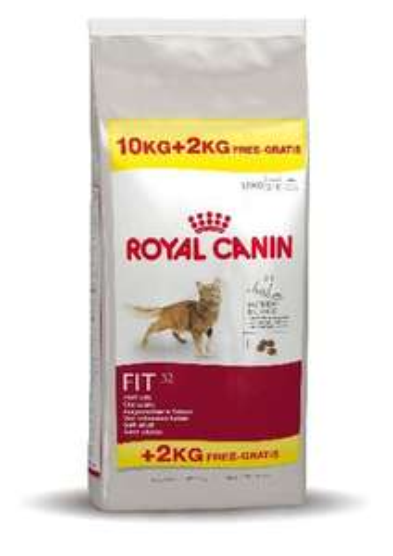 Royal Canin Fit 32 (12KG) bij Praxis incl. 20% kortingsbon (van Formido) voor 39,99