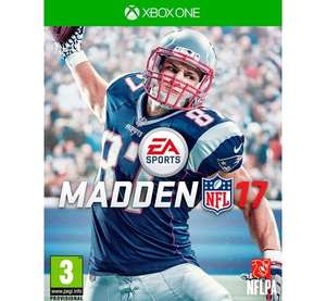 [PRIJSFOUT] Madden NFL 17 pre-order (Xbox One) voor €29,95 @ Coolblue