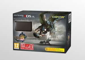 Nintendo 3DS XL + Monster Hunter 3 Ultimate voor €129,95 @ Coolshop