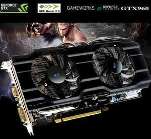 GeForce GTX960 2048MB DDR5 voor €83,96 @ Gearbest