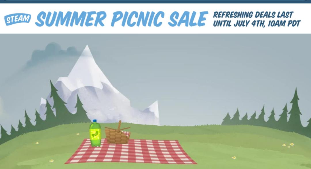 Summer Sale + elke dag drie gratis ruilkaarten @ Steam