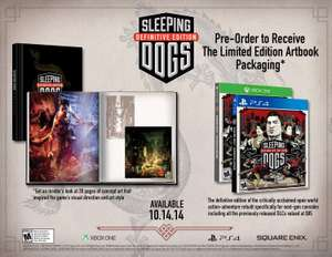 Sleeping Dogs Definitive Edition - Limited Edition PS4 & Xbox One door code voor €38,03 @ Zavvi.nl