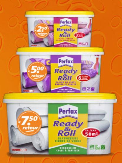 Refund actie Perfax Ready&Roll € 2,50, € 5,00 of € 7,50 max. 5 keer @ Henkel