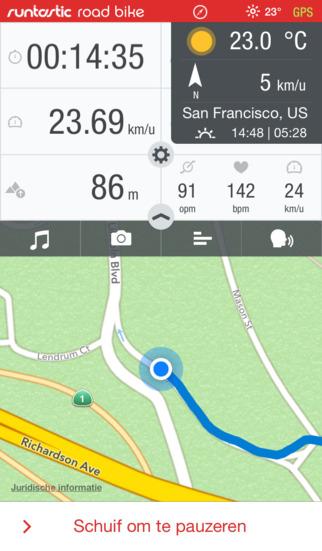 Gratis app Runtastic Roadbike Pro t.w.v. €4,99 @ App Store