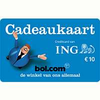 Creditcard actie ING: Gratis €10 bol cadeaukaart