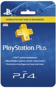 PlayStation Plus Voucher 365 Dagen voor €41,99 @ Bol.com