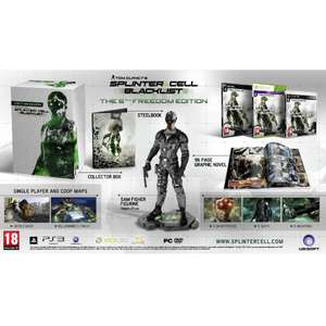 Splinter Cell: Blacklist (5th Freedom Edition)  Xbox 360 voor €24