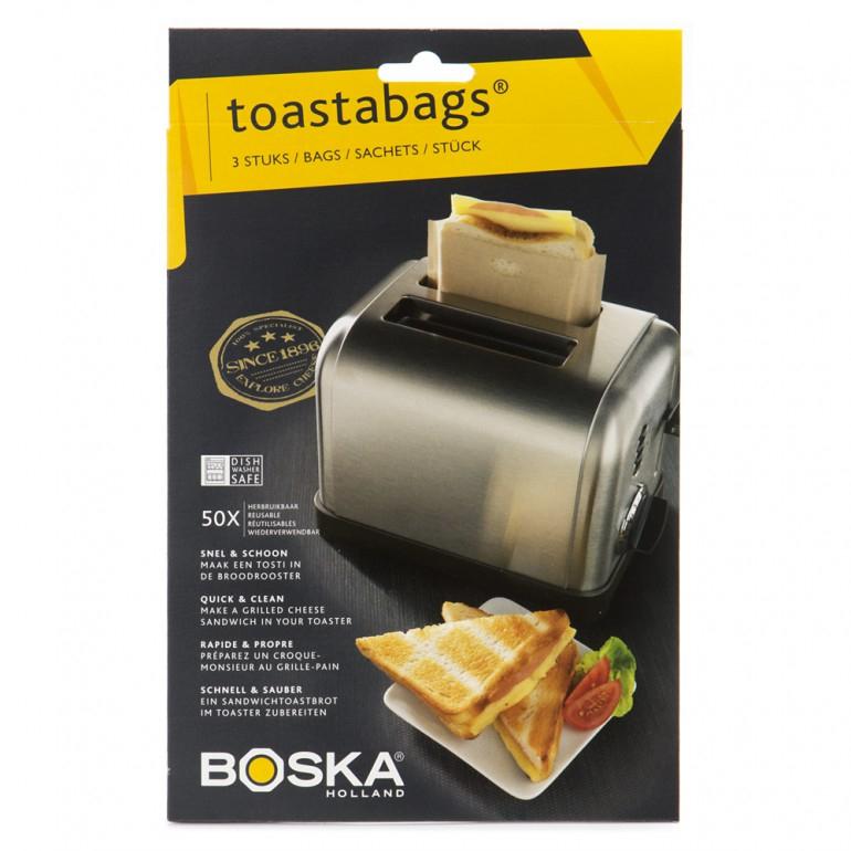 Boska Toastabags 3 stuks voor €0,99 @ Media Markt