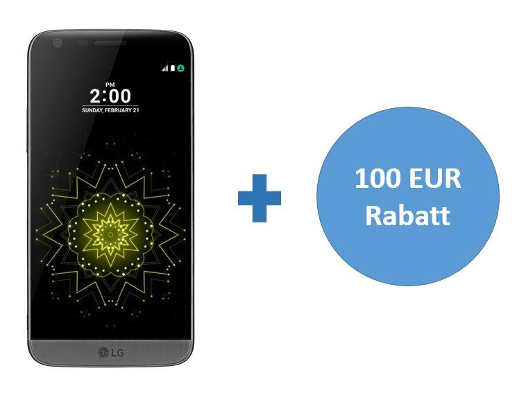 LG G5 32GB Smartphone voor €417,13 (+eventueel een €50 Amazon.de cadaukaart) @ Amazon.de