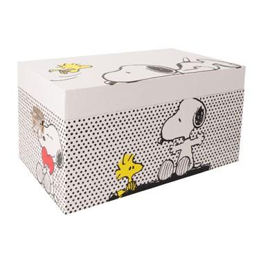 Snoopy dekenkist voor €14,99 @ Xenos