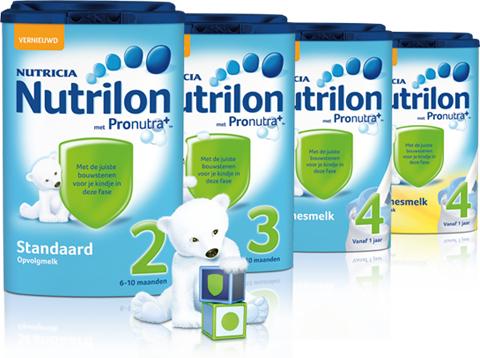 Gratis Nutrilon Dreumesmelk en Peuterbekers (aanvragen alleen voor ouders)