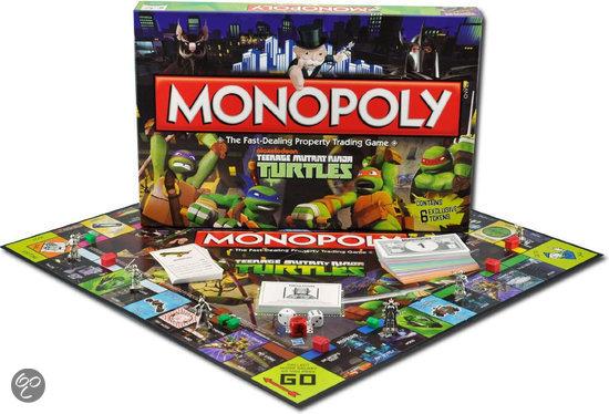 Monopoly bordspel (Teenage Mutant Ninja Turtles) voor €17,99 (+ €1,99 verzendkosten) @ Bol.com