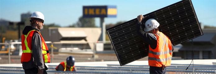 15% korting bij aanschaf zonnepanelen via IKEA