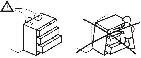 Gratis kantelbeveiligings-materiaal @ IKEA