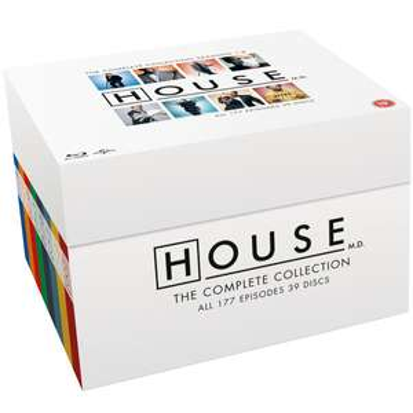 House M.D. - Complete Collection (Seizoen 1 t/m 8) op Blu-ray door code €69,11 @ Zavvi.nl