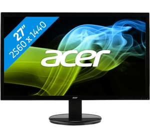 ACER K272HULBBMIDP monitor voor €269 @ Coolblue