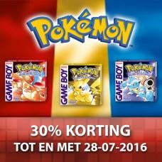 Pokemon Rood, Blauw en Geel @ Nintendo eShop (3DS)