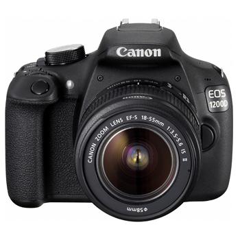 Canon EOS 1200D + EF-S 18-55mm f/3.5-5.6 IS II Zwart voor €299,95 @ Dixons (afhalen)