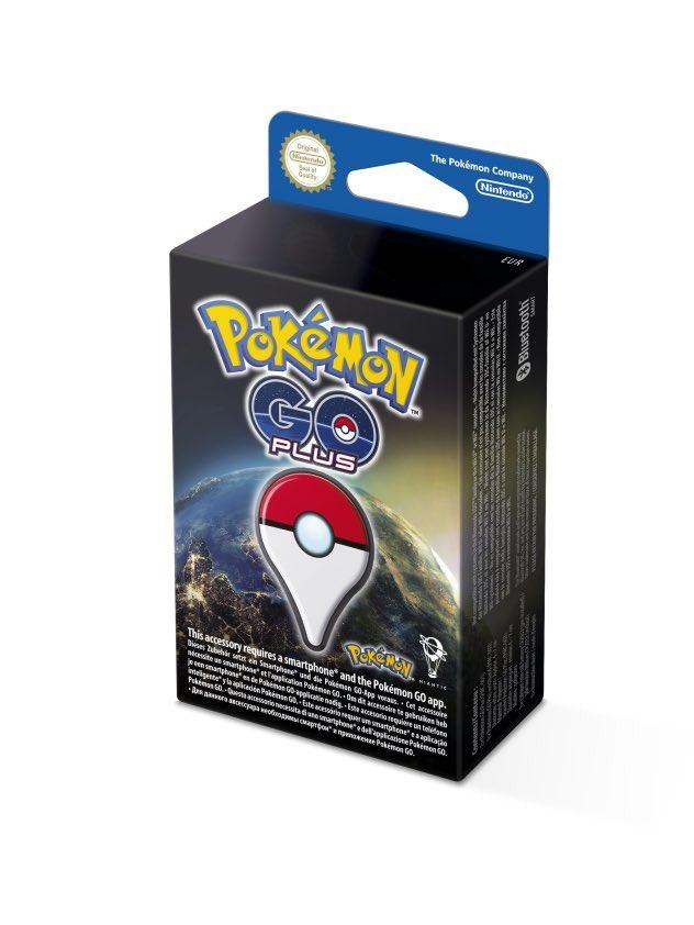 Pokémon GO Plus voor €39,99 (pre-order) @ Nintendo Store