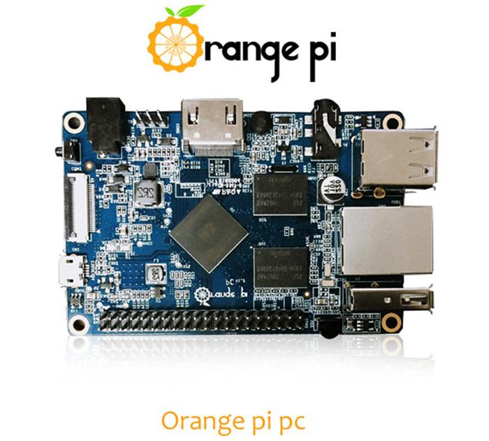 Orange Pi PC  (Raspberry clone) voor €7,70 @ Gearbest