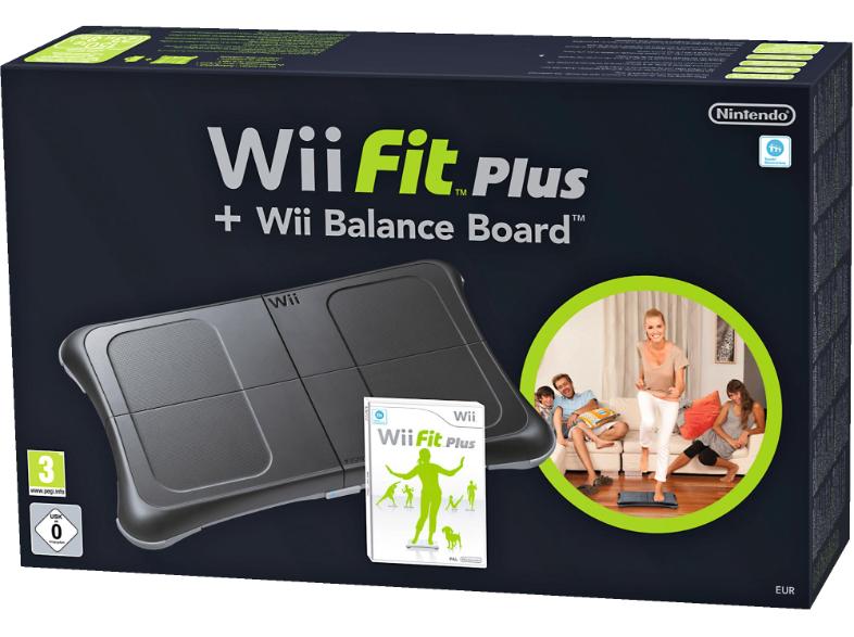 Wii Fit Plus + Balance Board (zwart) voor €39,98 @ Media Markt
