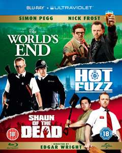 The World's End + Hot Fuzz + Shaun of the Dead op Blu-ray voor € 17,49 @ Zavvi