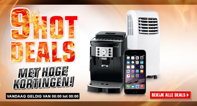 9 Hot Deals (o.a. Makita HP330DWLE voor €99 en Apple iPhone 6 Plus voor €594,76 @ Redcoon