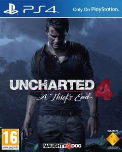 Uncharted 4: A Thief's End  voor €34,20 @ TheGameCollection