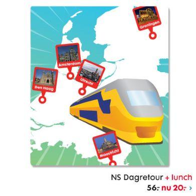 NS Dagretour + lunch
