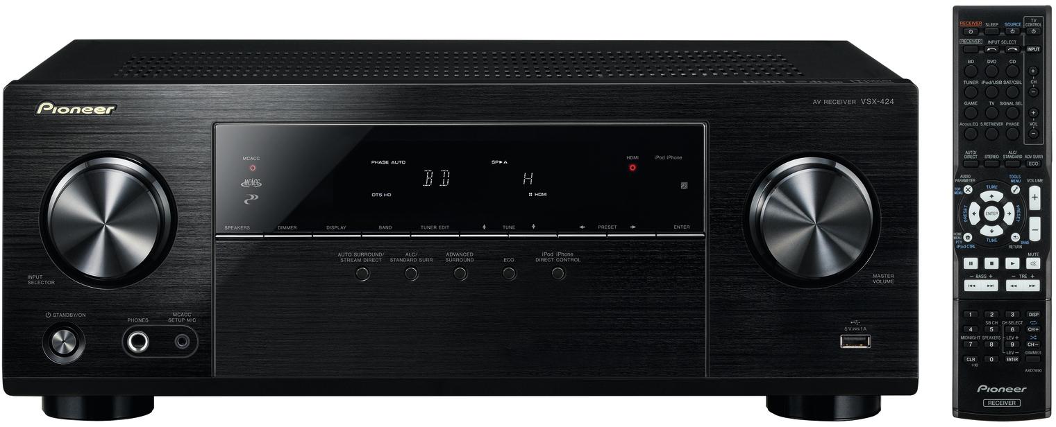 Pioneer VSX-424 AV-receiver voor € 133,- @ Media Markt (va. woensdag