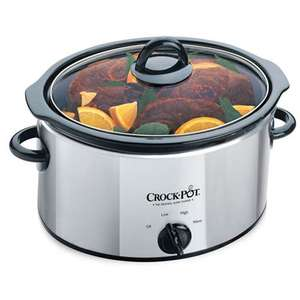 Crock-Pot slowcooker 3.5 liter voor €35,50 @ Amazon.co.uk