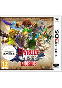 Hyrule Warriors: Legends (3DS) voor €17,15 @ Simplygames