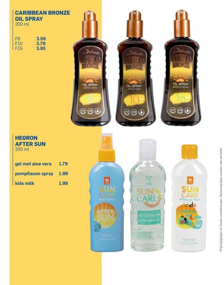 Carribean bronze oil spray 200ml voor €3,59 @ Action