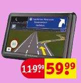 Navman 5000 LM Europa Navigatie met levenslange kaartupdates voor €59,99 @ Kruidvat