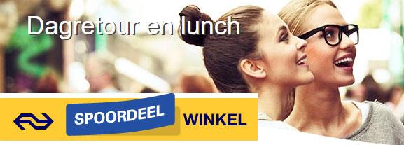 Dagretour + lunch bij Bakker Bart €19 @ Spoordeelwinkel
